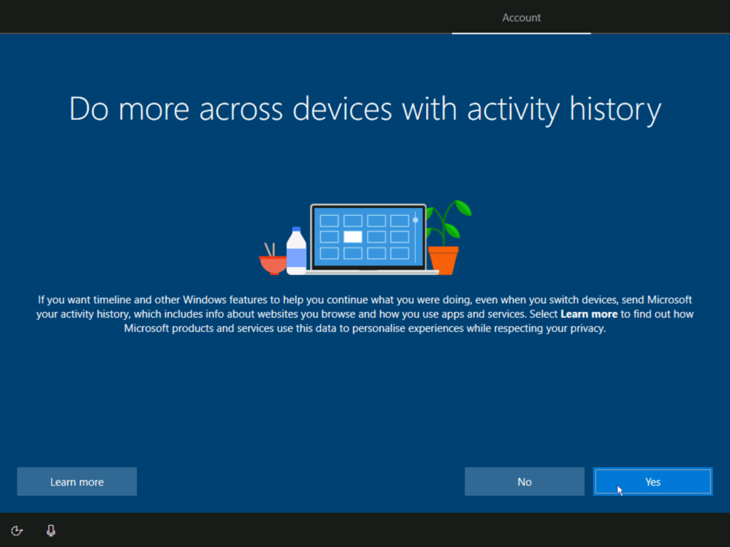 How to install Windows 10 step 19