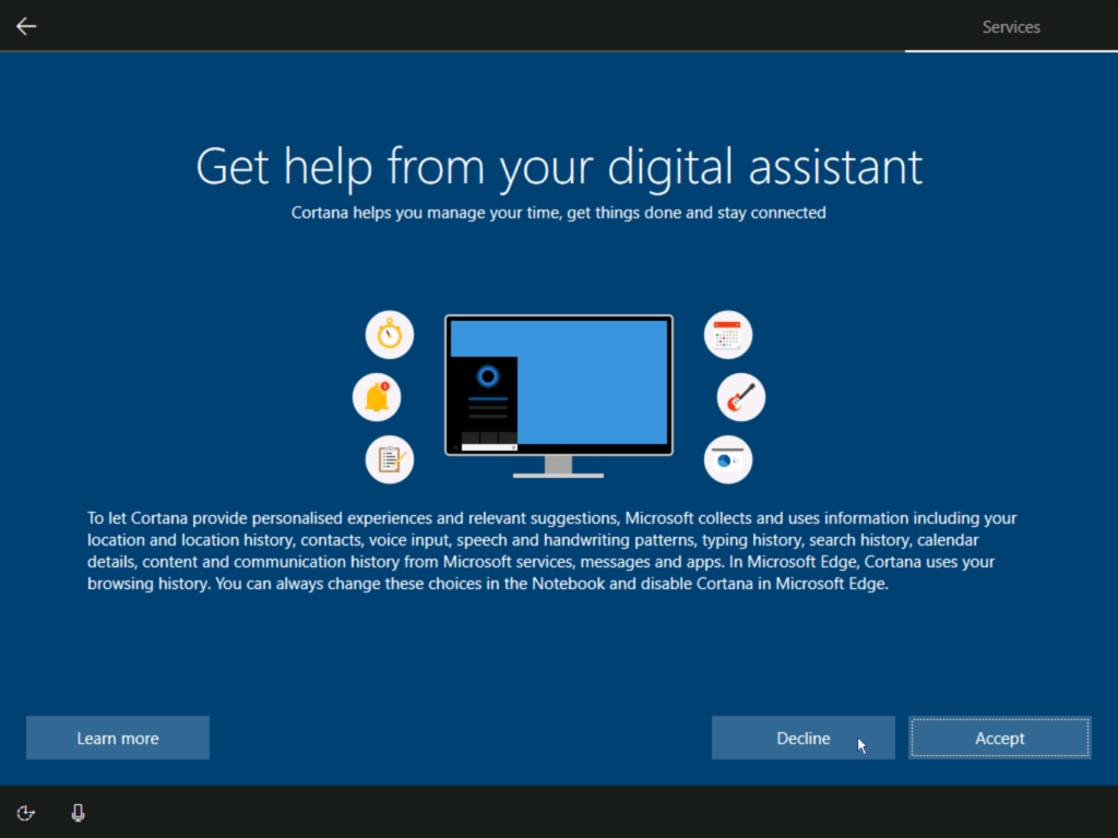 How to install Windows 10 step 20