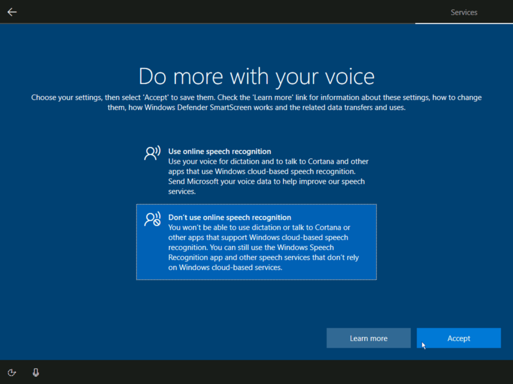 How to install Windows 10 step 21