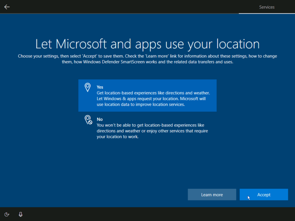 How to install Windows 10 step 22