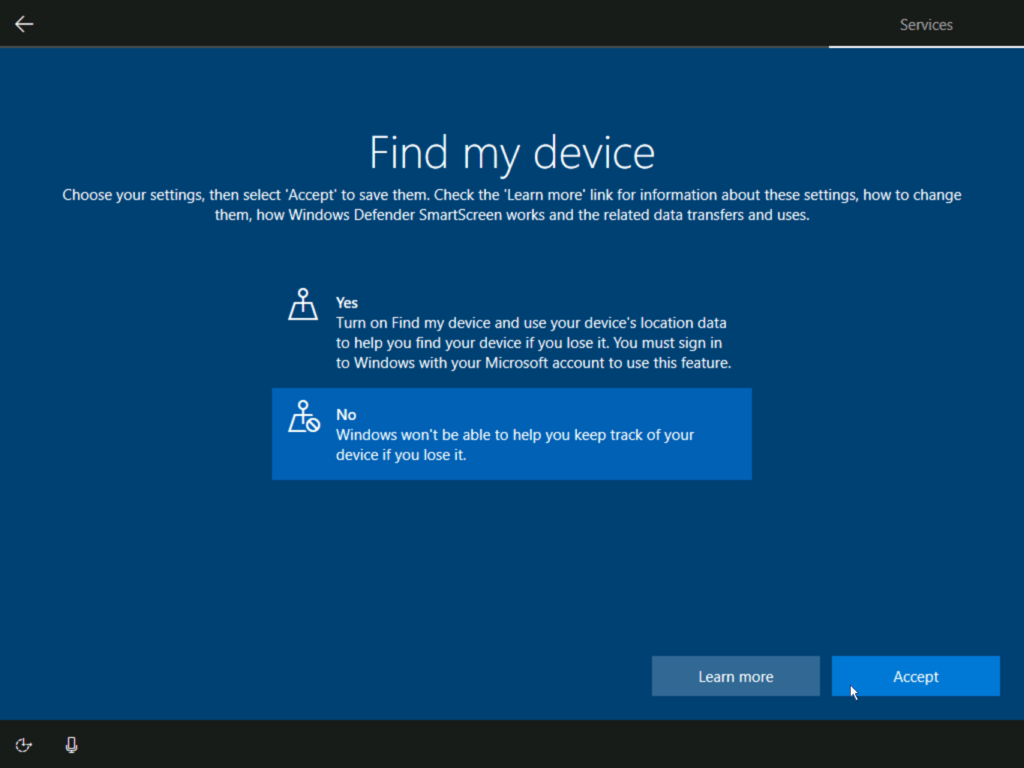 How to install Windows 10 step 23