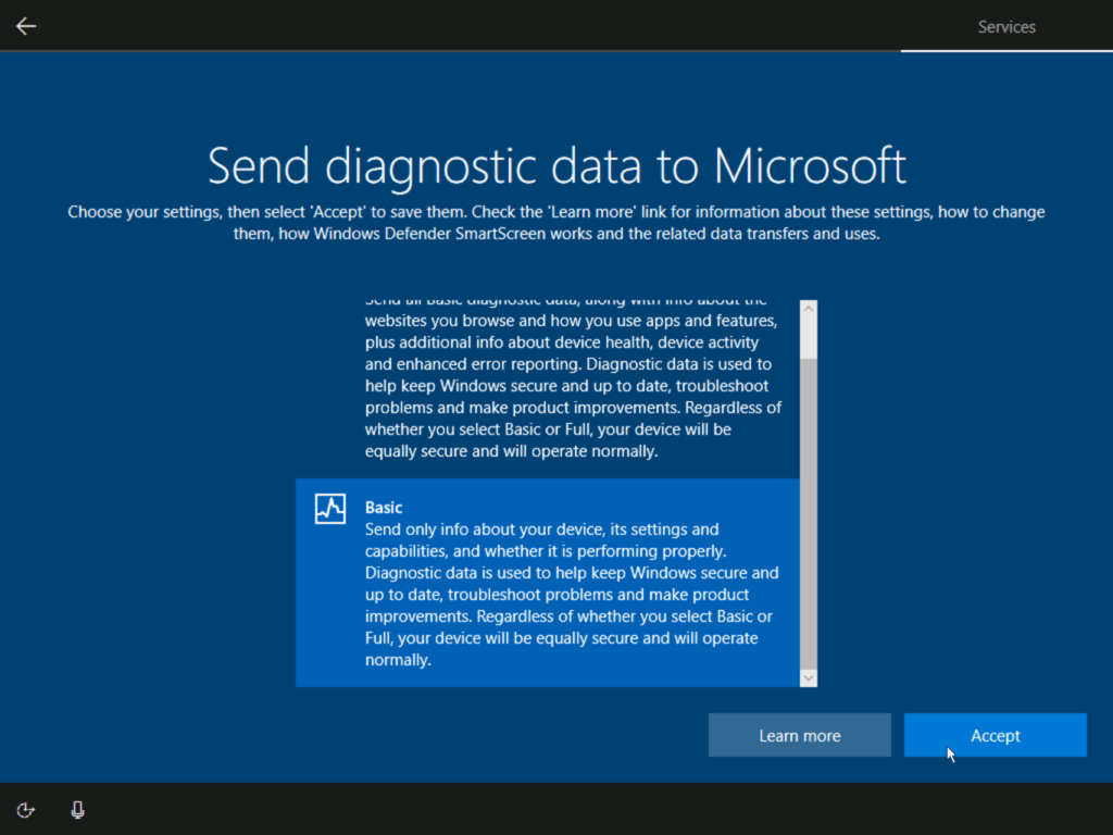 How to install Windows 10 step 24