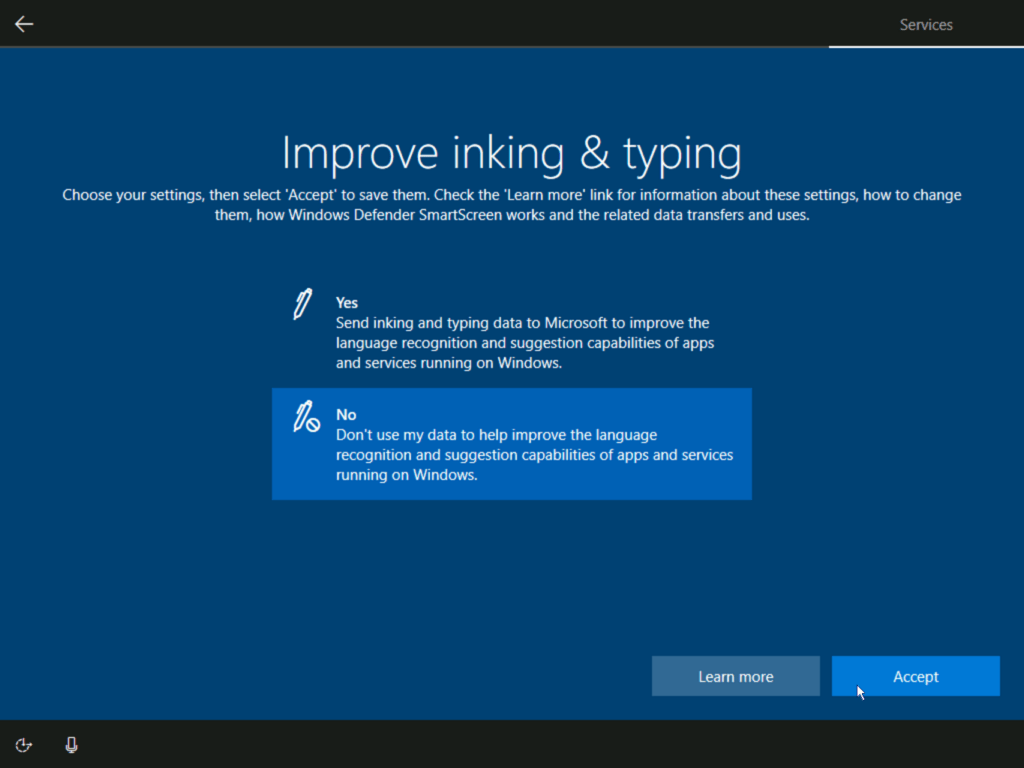 How to install Windows 10 step 25