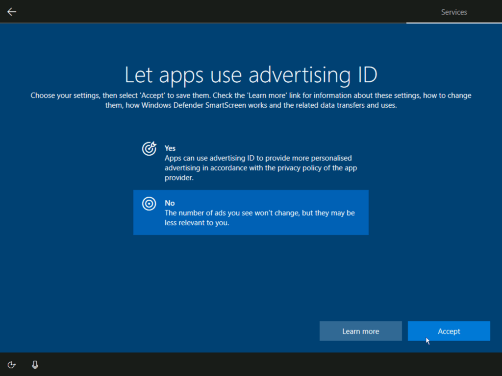 How to install Windows 10 step 27