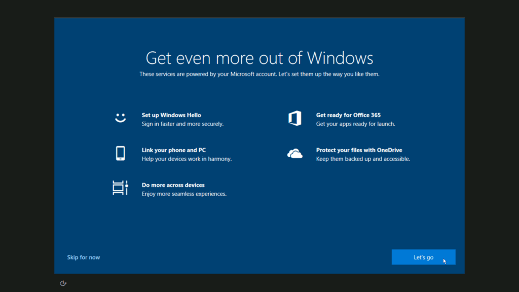 How to install Windows 10 step 31