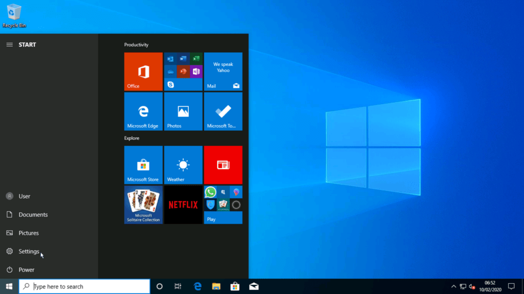 How to install Windows 10 step 32