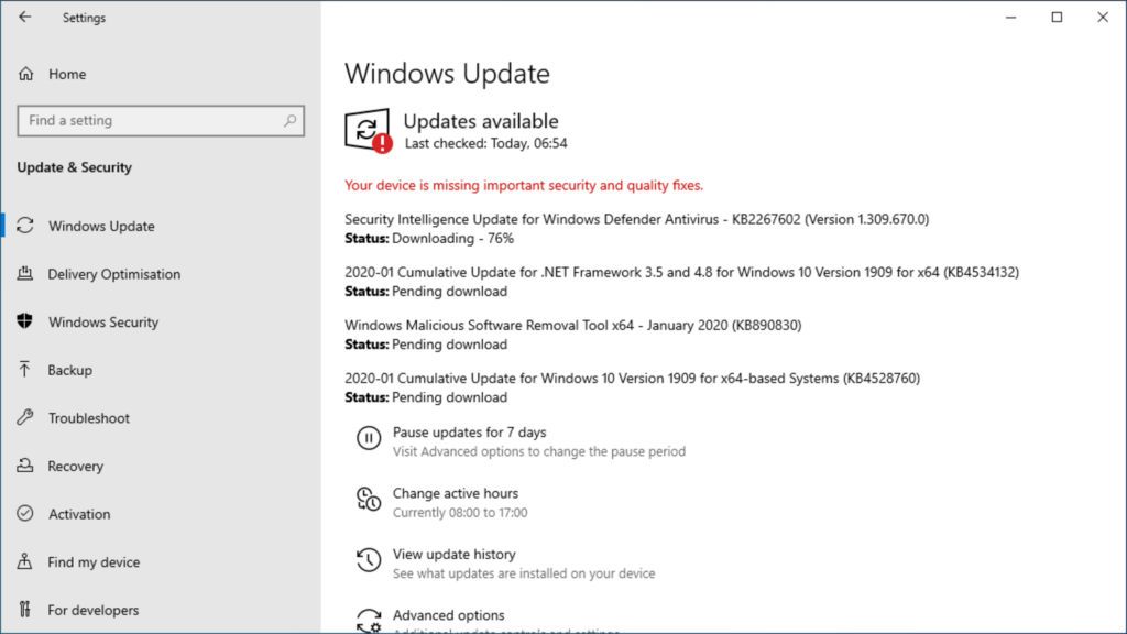How to install Windows 10 step 35