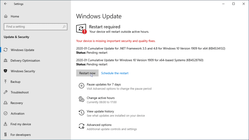 How to install Windows 10 step 36