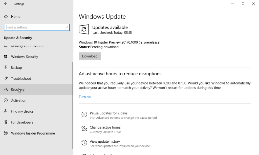 How to install Windows 10 - Restart from USB 2