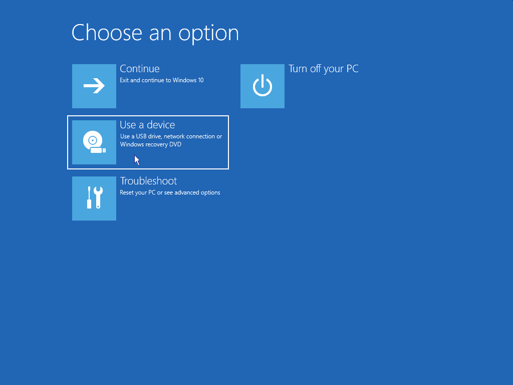 How to install Windows 10 - Restart from USB 4