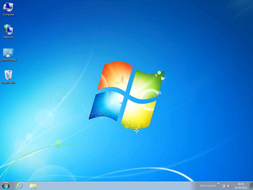 Windows 7 vulnerability